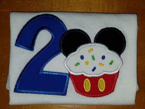 Birthday Mickey Shirt Mouse Birthday shirt 1st 2nd 3rd 4th