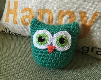 "5"" Amigurumi Owl - Custom Colors"
