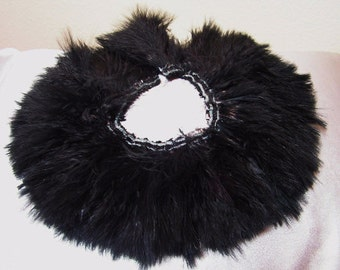 Black Marabou feathers , bulk, lot, wholesale, hair extension, golden yellow feather