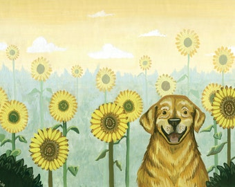 Happy Dog Print