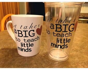 Teacher's Coffee Cup or Tumbler
