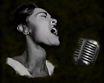 Billie Holiday Fine and Mellow