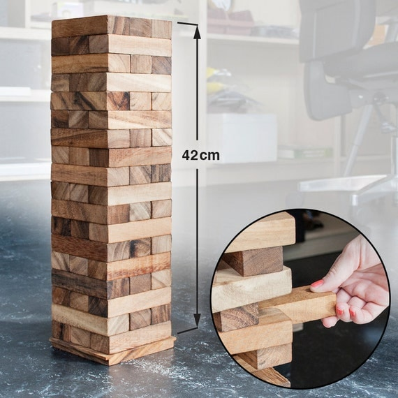 Crazy Tower XXL – Game – Wooden Game of Skill
