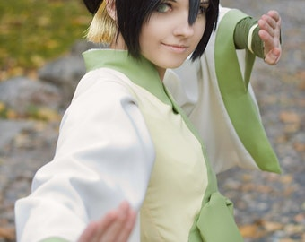 Avatar the Last Airbender Toph Beifong Cosplay Wig