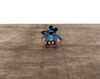Lilo and Stitch Ring, Lilo and Stitch Adjustable Ring, Stitch Ring, Lilo Ring, Lilo & Stitch Ring