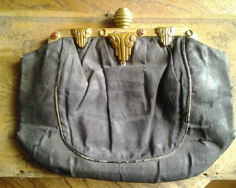 Three French Vintage EVENING PURSES and BAGS - beautiful  Art Deco/beaded/embroidered. Purchase separately if wished.