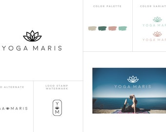 Custom Logo Design Branding || Custom Branding Package Kit || Blog Header Design || Logo Designer || Blog Branding