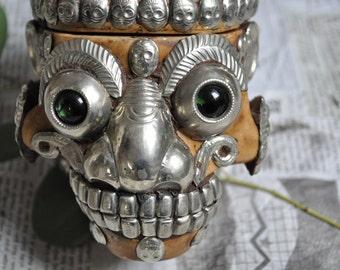 Kapala Tibetan - shamanic ritual - Skull