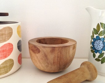 Small Vintage Pestle and Mortar