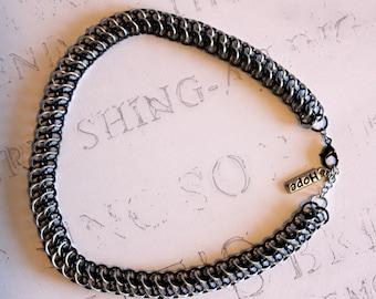 Chain Choker - Simple Choker - Chainmail Collar - Chainmail Choker - Statement Choker - Choker Collar - Minimalist Choker