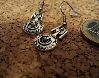 Star Trek Enterprise earrings
