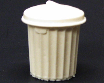 1:25 G scale model resin trash garbage can