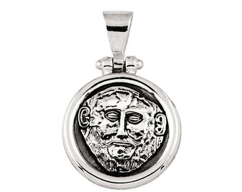 Agamemnon's Mask Pendant