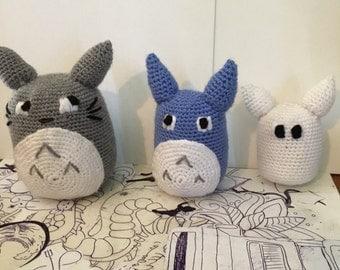 Totoro collection crochet dolls