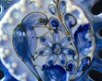 Blue Bird Dish Tonala, Mexico