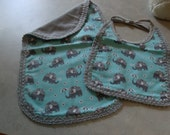 Burp cloth & bib