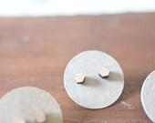Wood Hexagon Earring   Wood Hexagon Earrings   Hexagon Earrings   Wood Earring Stud   Rustic Wedding Earrings Hypoallergenic Earring Stud