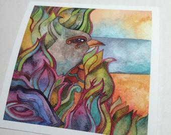 Jade Bird  Giclee print by Megan Noel