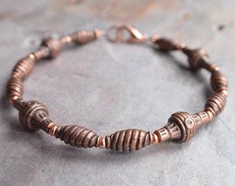 The Atticus- Copper Men's Bracelet