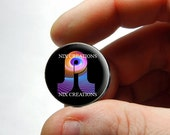 25mm 20mm 16mm 12mm 10mm or 8mm Glass Cabochon - BassNectar Pretty Lights - Design 12  - for Jewelry and Pendant Making