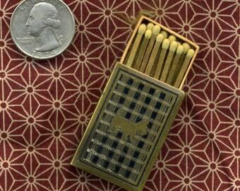 1930s ART DECO SCOTTIE Metal Matchbox Holder