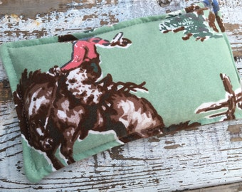 Therapy Rice Pack-Eco Friendly Collection-Hot or Cold-Cowboys and Plaid