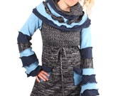 Hazed and Confused - Sweater Dress - XL
