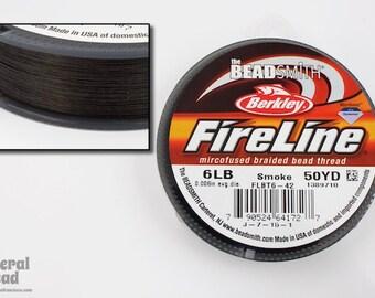 6 Lb. Smoke Fireline 50 Yard Roll #WRK009
