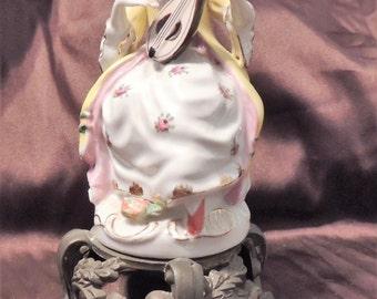 C & S NY Porcelain Lady  Figurine