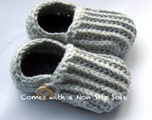 Toddler Slippers, Cotton Loafers, kid slippers // Many Sizes and Colors to Choose from // Made with a Non Slip Sole
