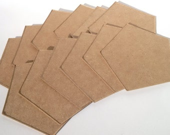 "Chipboard Only for 5"" Pentagon Box"