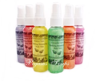 Clearance Love Spell type Sparkling Shimmering Body Mist- Body Care- Skin Care- Perfume