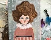 Oil painting portrait - Liz - Original art