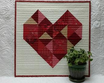 Patchwork Love Quilt