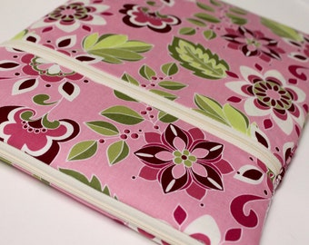 "13"" MacBook Pro, 15 inch Case, MacBook Pro with Retina Display, Laptop Sleeve for Women or Girls - Pink Garden Bouquet"