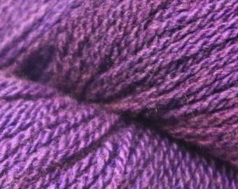 BaaBoo Wool/Bamboo Yarn Amethyst Colorway