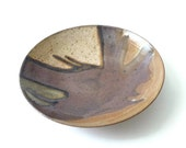 Wayne Chapman Modernist Studio Pottery Plate Mid Century Modern