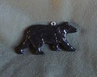 Black Bear Home Decor Hanger-Sculpted, Handmade