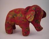 Oilcloth Carnival Elephant