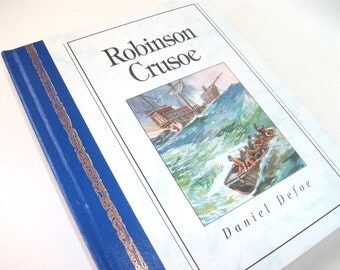 Hollow Book Safe Robinson Crusoe Secret Stash Compartment Storage Box Container
