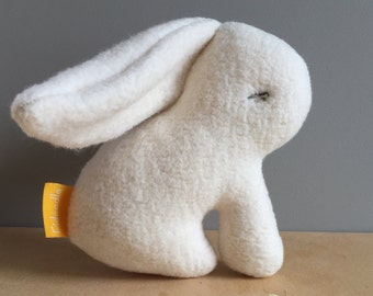 Baby Rabbit Rattle- Organic Cotton