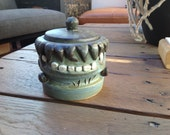 RESERVED--Frankenstein's monster sugar bowl
