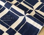 Japanese Fabric Tiles - navy blue - 50cm