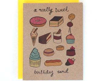 A Really Sweet Birthday Card