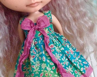 Dress for Blythe - Beautiful Batiks #17