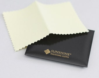 Sunshine Polishing Cloth, Mini Size, Silver Cleaner, Brass Cleaner, Gold Cleaner, Tarnish Remover, Jewelry Care