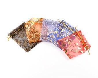 20 10x12cm Organza bags