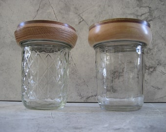Wooden Mason Jar Lids (Set of 2)