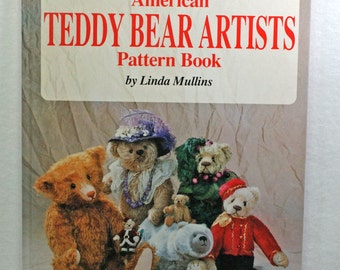 Teddy Bear Pattern hardback book  Linda Mullins