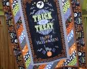 Halloween Quilt Here's for the Boo's, wall hanging, blanket